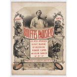 Advertising Poster Parisian Cabaret