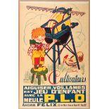 Advertising Poster Grindstone Farm Equipment