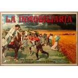Advertising Poster Insurance Policy Agriculture Spain