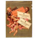 Advertising Poster Reichardt Chocolate Cupids