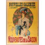 Advertising Poster Department France Belle Epoque