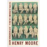 Henry Moore Exhibition Advertisin