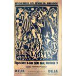 Advertising Poster Sports Carnival Riga