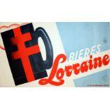 Advertising Posters Beer Lorraine