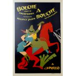 Advertising Poster Mouth to Mouth operetta France