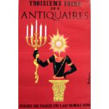 Advertising Posters Third Antiquarian Fair