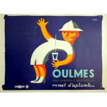 Advertising Poster Oulmes Mineral Water