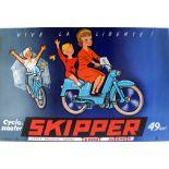 Advertising Poster Automoto Terrot Skipper