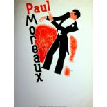 Advertising Poster Paul Moreaux Art Deco Jazz