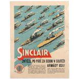Advertising Poster Sinclair Oil