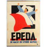 Advertising Poster Art Deco Mattress