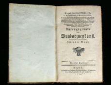 Wundarzneykunstvon August Gottlieb Richter; Zweyter Band mit 4 Kupfertafeln; gedruckt bey Johann