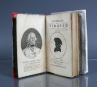 Revolutions-Almanach von 1801mit Kupferstichen und ausklappbaren Tafeln; mit Kupferstich-Darstellung
