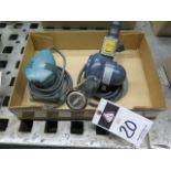 Makita Pad Sander and Chicago Electric Heat Gun