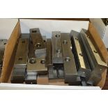 """Box of Various Size 6"""", 7"""", 8"""", 9"""" Parallels and Various Size Shims"""