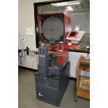 2005 Starrett HB 400 Optical Comparitor with Quadra-Chek 200 Control, S/N 50644 on 2 Drawer