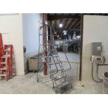 Tri-Arc 7 step warehouse ladder