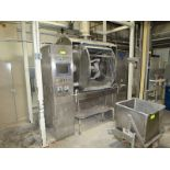 Peerless 600 lb roller bar mixer, model HS6, s/n 209129, installed in 2011, jacketed bowl, plc