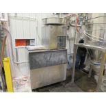 Hoshizaki ice cube making machine, model F-801MAH-C, Sn: A01364E, 404A refrigerant,