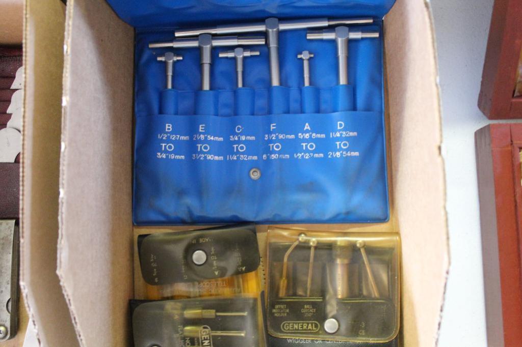 Lot 35 - Wiggler's, edge finder and telescoping gauges