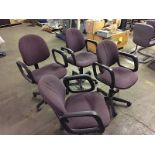 Office Chairs Roller (purple)