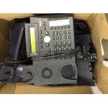 Box of Office Telephones - SNOM 320 VOIP Phone