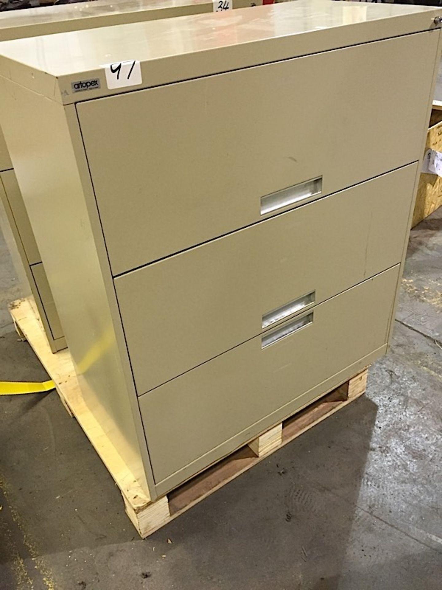 3 Door Artopex office cabinet (Metal)