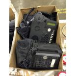 Box of Office Telephones - Assorted