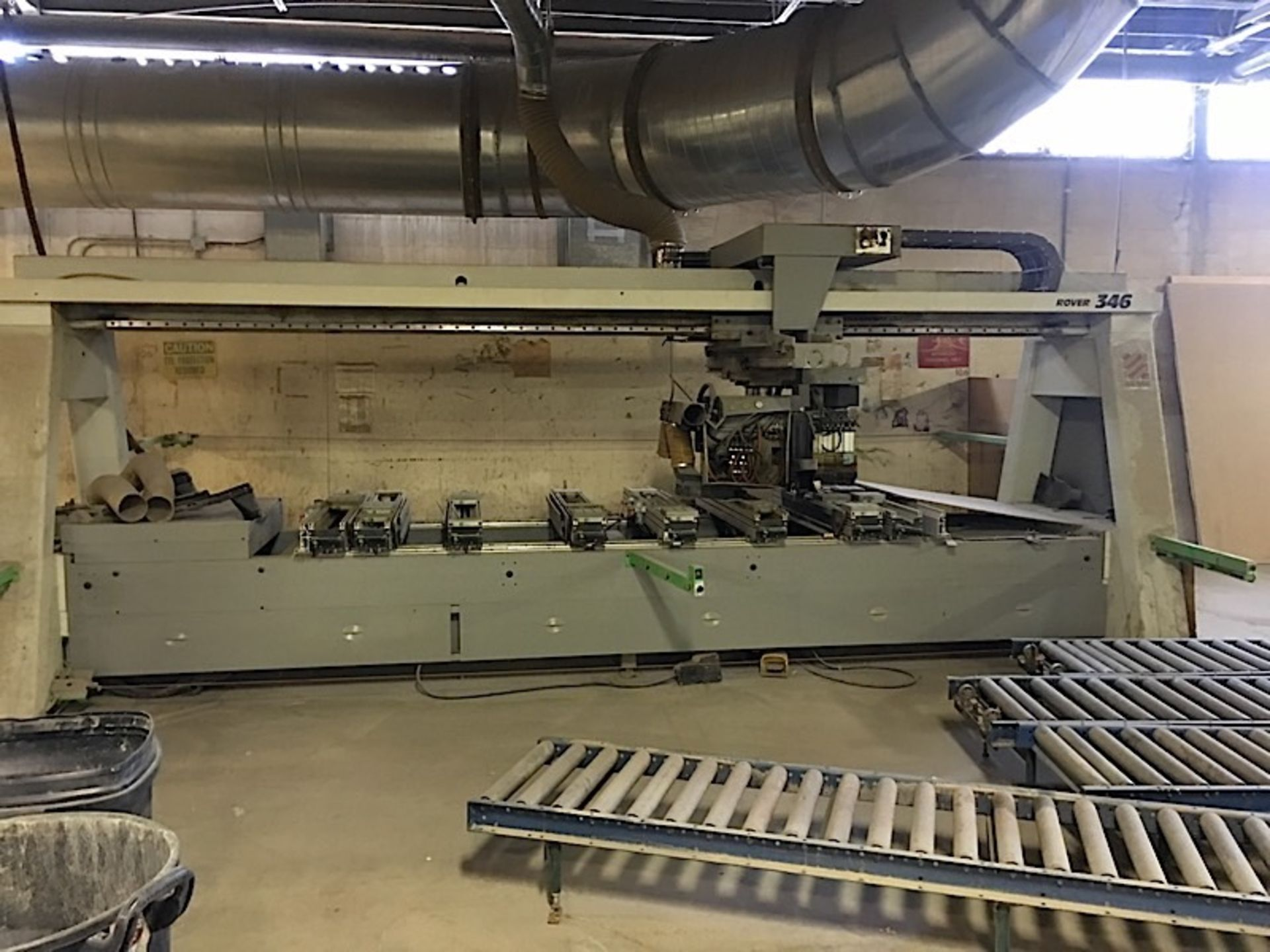 BIESSE (346) CNC POD & RAIL ROUTER