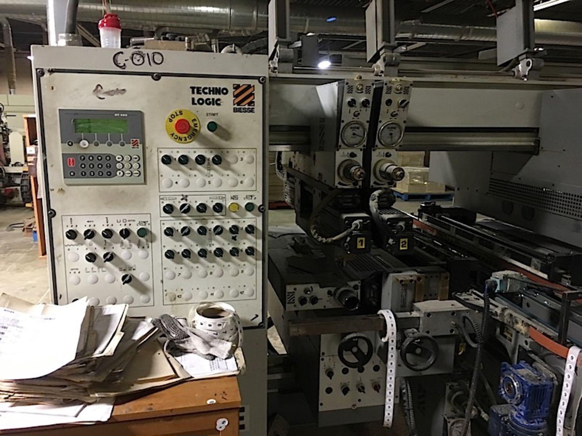 BIESSE (TECHNO) CNC FEED THROUGH BORING MACHINE - Image 3 of 4