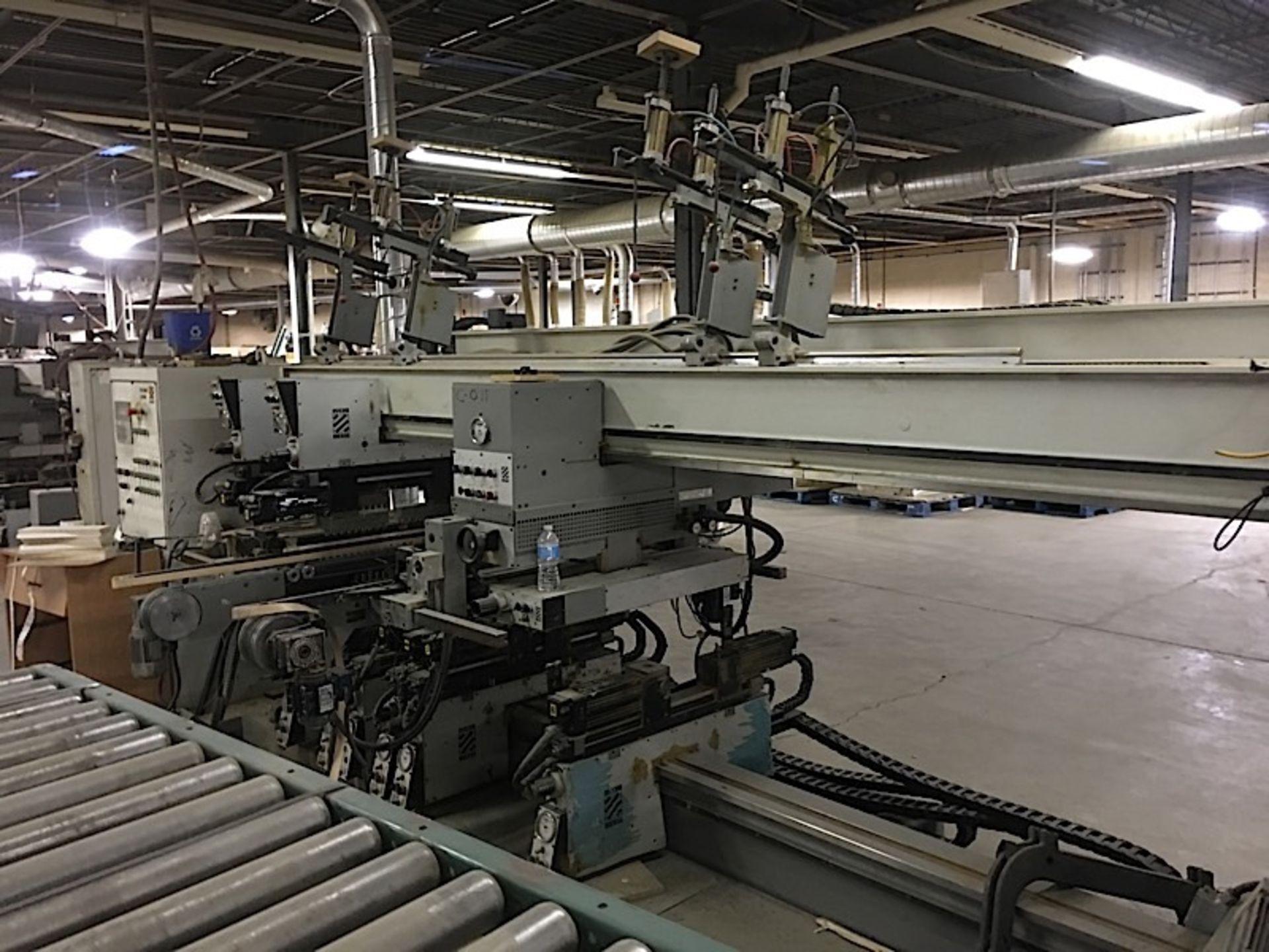 BIESSE (TECHNO) CNC FEED THROUGH BORING MACHINE - Image 2 of 4