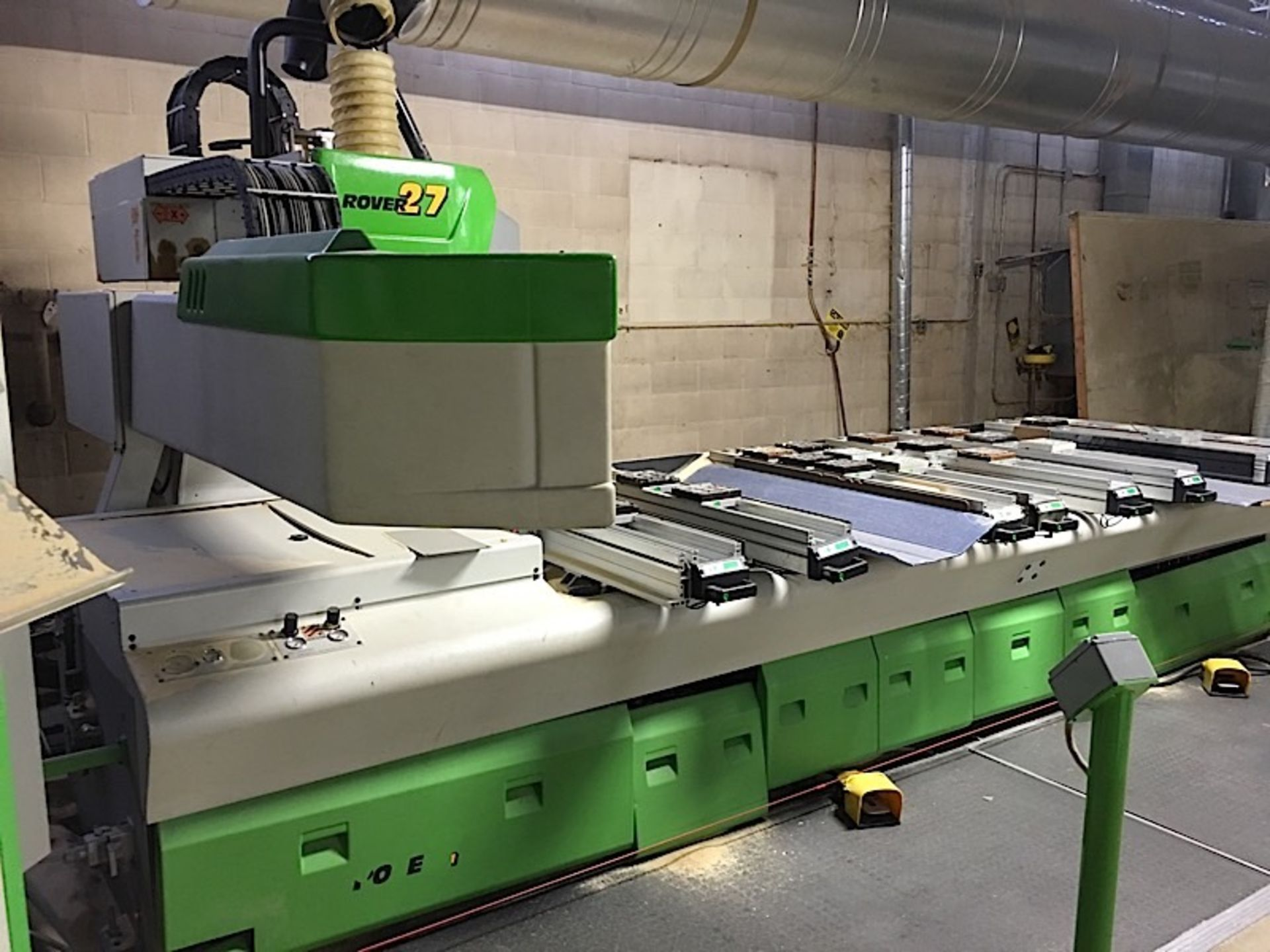 BIESSE (ROVER 27) CNC POD & RAIL ROUTER - Image 3 of 7