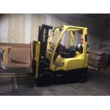 2006 HYSTER (S50FT) 3-STAGE WITH SIDE SHIFT FORKLIFT