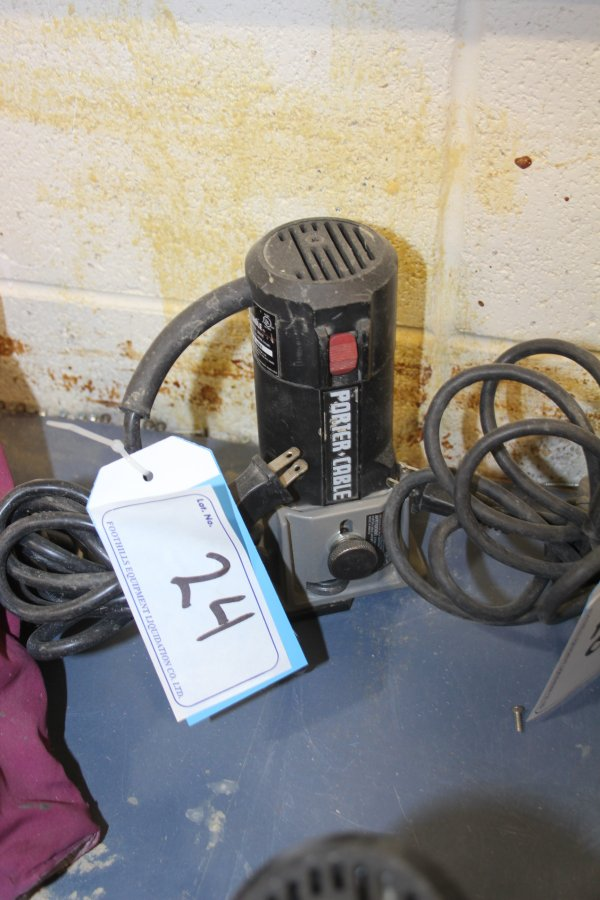 Lot 24 - PORTERCABLE TRIMMER
