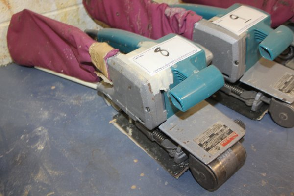 Lot 8 - MAKITA BELT SANDER