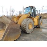 Cat 980 Wheel Loader, 12,240 Hrs, Bucket, S/N JMS01819