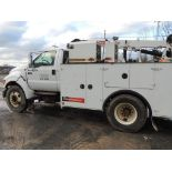 Ford F750 Service Truck, 154,935 Miles, Vin. 3FRWG7546V356749