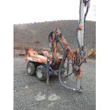 Tamrock Commando 120H Rubber Tire Drill, S/N 1041773 28-1