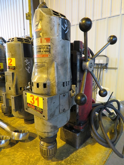 Lot 31 - Milwaukee Magnetic Drill