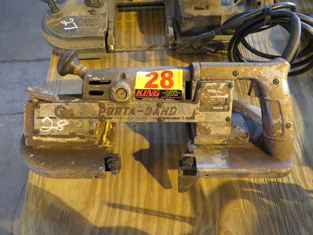 Lot 28 - Rockwell Portable Band Saw