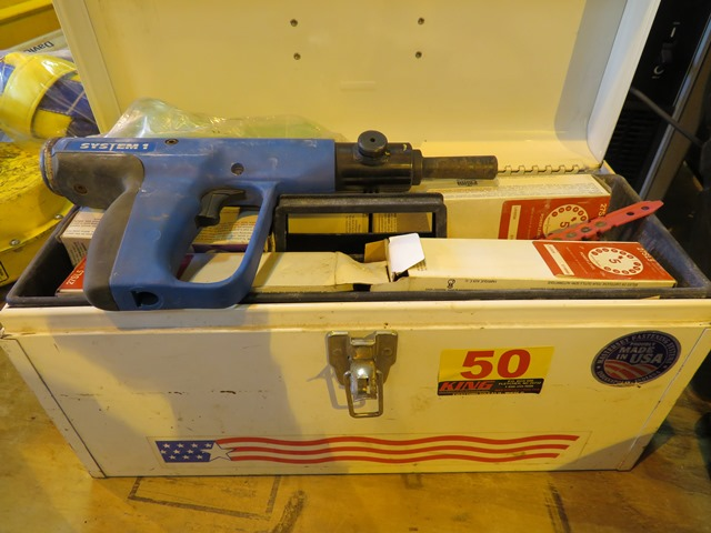 Lot 50 - Masterset Powder Actuated System 1