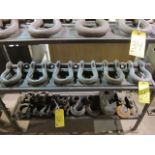 LOT OF SHACKLES (6)