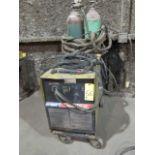 PLASMA CUTTER, HOBART SMOOTHCUT MDL. 120, 120 amps, running gear & torch