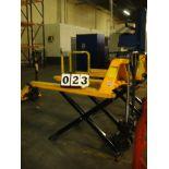 """PALLET JACK, U-LINE 2,200 LB. CAP. MDL. H1785, 32"""" lift ht."""