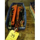 LOT OF WRENCHES: Allen & pipe