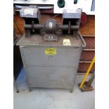 DOUBLE END BUFFING CABINET, REDWING