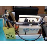 FILTER REGULATOR LUBRICATION AIR LINE KIT, NAKANISHI INK MDL. AL-807, w/bits & flex handle drill