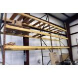 """LOT OF PALLET RACK SECTIONS (2), 20"""" x 15"""" x 3-1/2"""""""