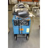 WELDING MACHINE, MILLER DIALARC MDL. HF, 250 amps @ 30 v., 40% duty cycle, welding leads &
