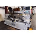 """CNC TOOLROOM LATHE, HAAS MDL. TL-3, new 9/2008, Haas CNC control, 20"""" turning dia., 13"""" sw. over"""